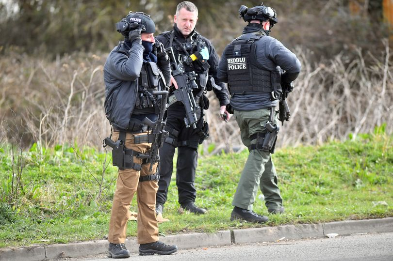 Armed police swoop with 12 men arrested after incident leaves 3 in hospital